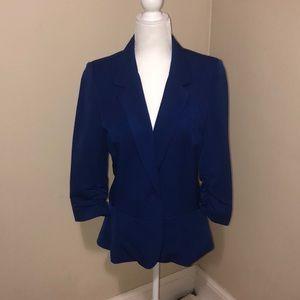 Black Rainn blue size medium 3/4 sleeves blazer